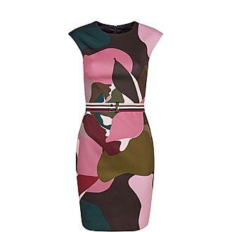 Ginina Maple Swirl Bodycon Dress