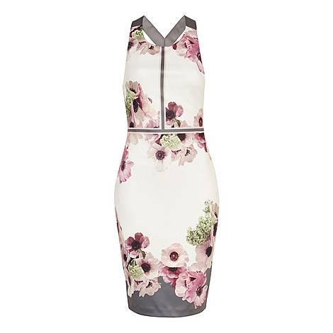 Nanina Neapolitan Buckle Detail Dress, ${color}