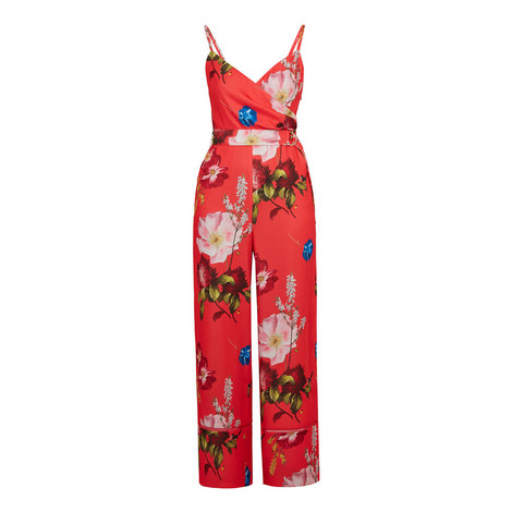 Piiper Berry Sundae Wrap Jumpsuit, ${color}