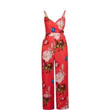 dc56f1bff69 Piiper Berry Sundae Wrap Jumpsuit