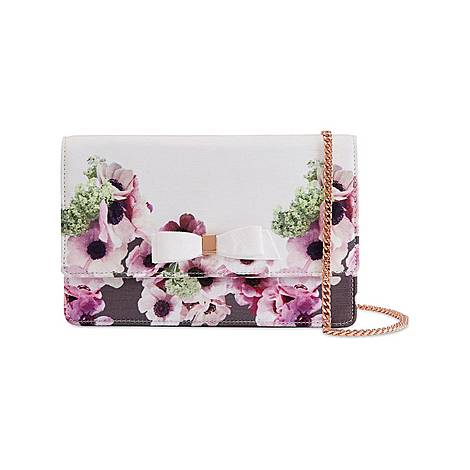Amiya Neapolitan Bow Evening Bag, ${color}