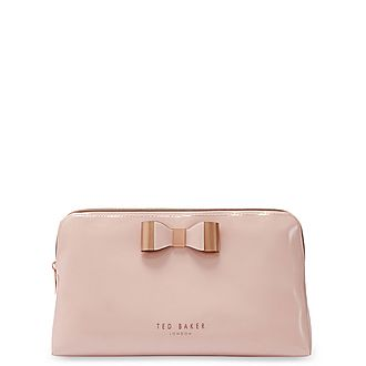 Vanitee Bow Make Up Bag