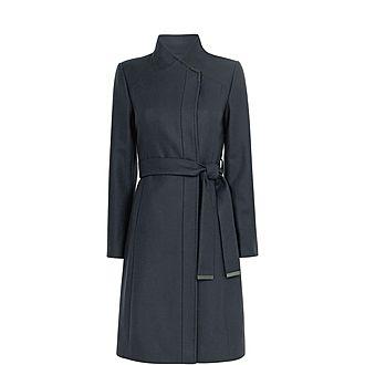 Ellgenc Long Wrap Coat
