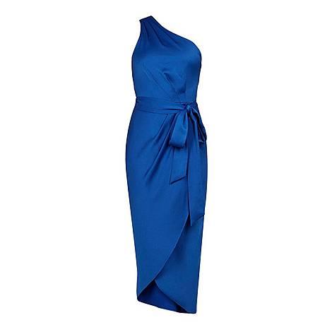 Gabie One Shoulder Dress, ${color}