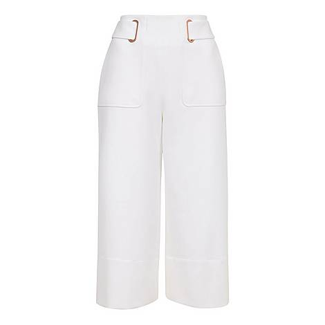 Imana Belted Tailored Culottes, ${color}