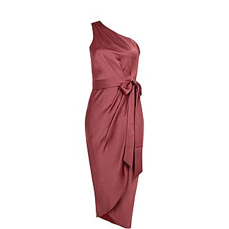 Gabie Drape Midi Dress