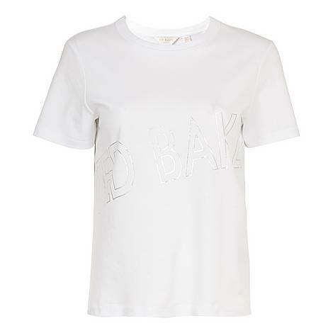 Malom Foil Cotton T-Shirt, ${color}