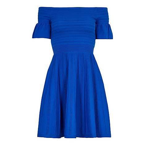 Criptum Bardot Skater Dress, ${color}