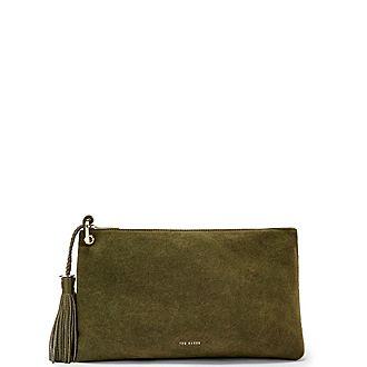 Deseree Tassel Clutch Bag