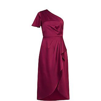 Ridah One Shoulder Dress