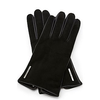 Sofie Suede Leather Gloves