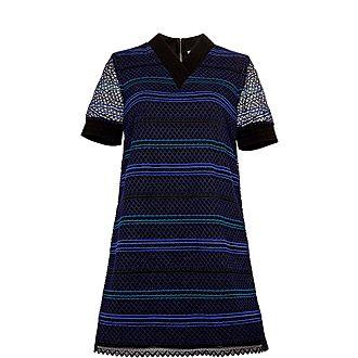 Estelly Lace A-Line Tunic Dress