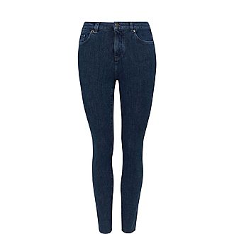 Magolo Raw Skinny Jeans