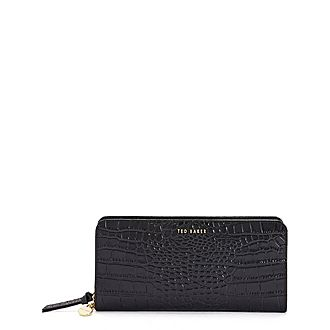 Stellys Exotic Leather Charm Matinee Purse
