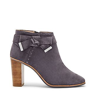 Anaedi Bow Detail Ankle Boots