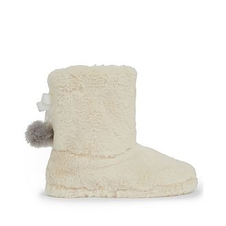 Hammond Faux Fur Slipper Boots