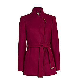Drytaa Belted Wrap Coat