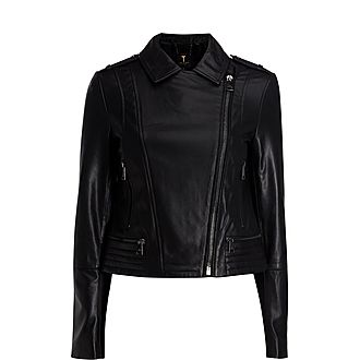 Idda Zip Biker Jacket