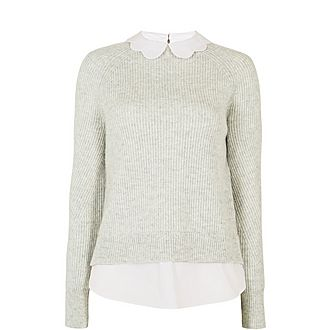 Uleen Mock Collar Sweater