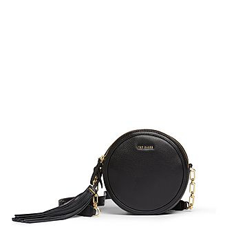 Errinn Circular Tassel Crossbody Bag