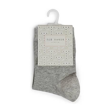 Polarr Cotton Polar Bear Socks, ${color}
