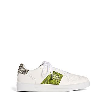 Coppirr Embossed Snake-Effect Trainers