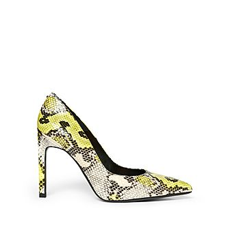 Melliss Snake-Effect Leather Courts