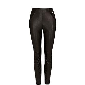 Kloriis Faux Leather Leggings