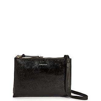 Deenah Leather Small Crossbody
