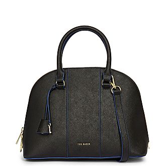 Baylley Leather Dome Crossbody