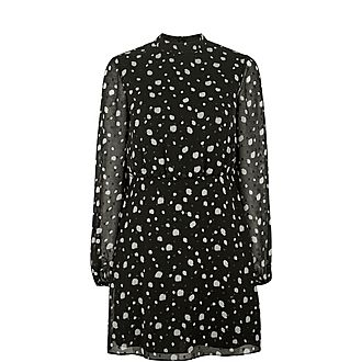 Floelle Polka Dot Tunic Dress