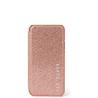Kazaal Glitter iPhone X Case