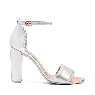 Raidhal Scallop Detail Sandals