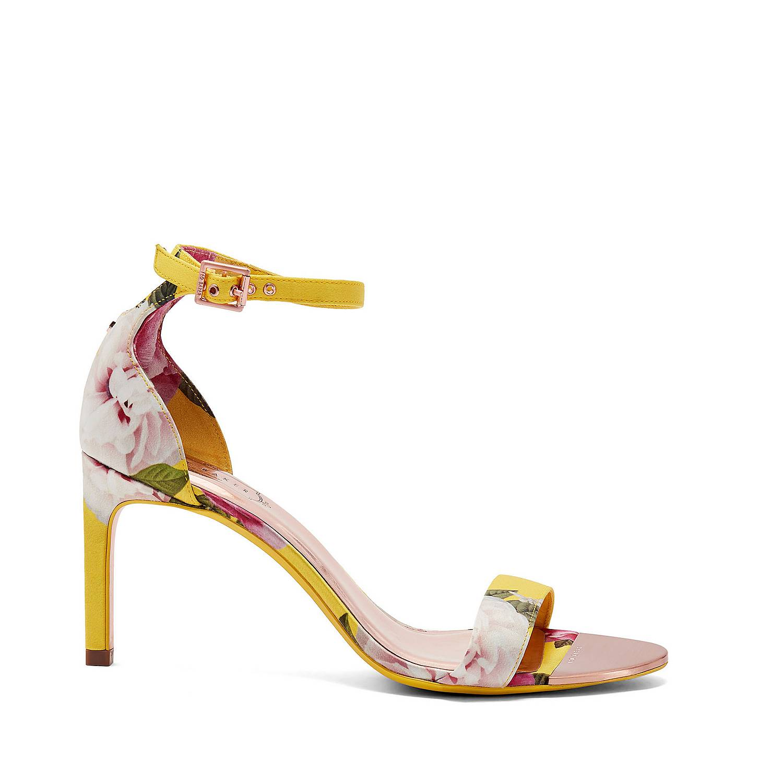 0c7353d3fa5 Ted Baker Ulaniip Printed Straight Heel Sandals | Brown Thomas