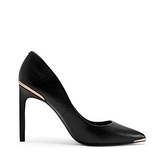 Melni Straight High Heel Court Shoes