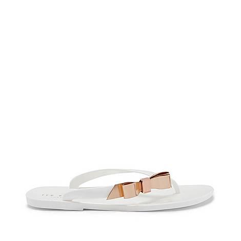 Suzzi Bow Flip Flops, ${color}