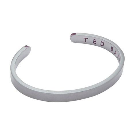Calming Brushed Metal Cuff, ${color}