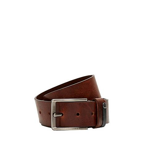 Keepsak Contrast Leather Belt, ${color}