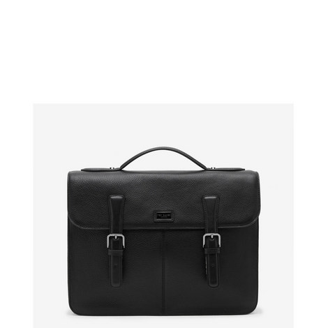 Bengal Leather Briefcase Satchel, ${color}