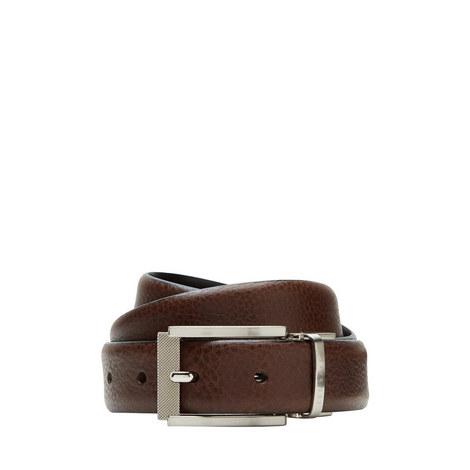 Reva Reversible Leather Belt, ${color}