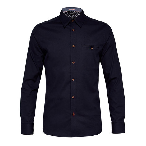 Obidos Textured Cotton Shirt, ${color}