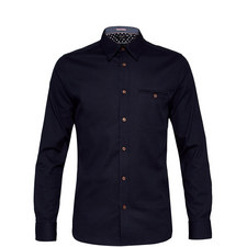 Obidos Textured Cotton Shirt