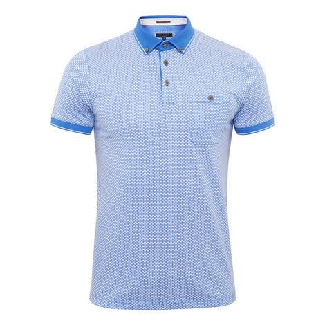 Enders Geo-Print Polo Shirt, ${color}