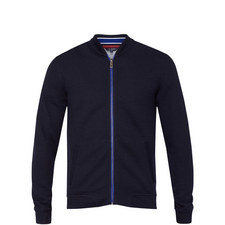 Clive Jersey Bomber Jacket
