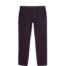 Maxchi Slim Fit Textured Trousers