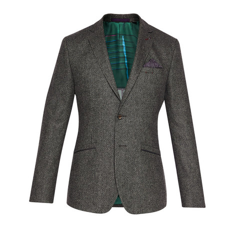 Insane Mini Design Wool Blazer, ${color}