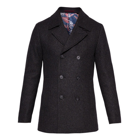 Zachary Wool Pea Coat, ${color}