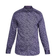 Marais Printed Cotton Shirt
