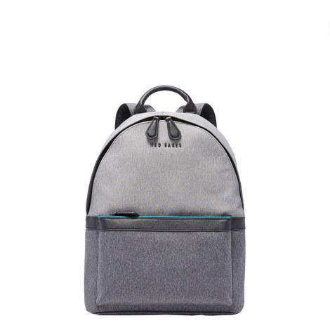 Zirabi Two-Tone Backpack, ${color}