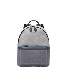 Zirabi Two-Tone Backpack